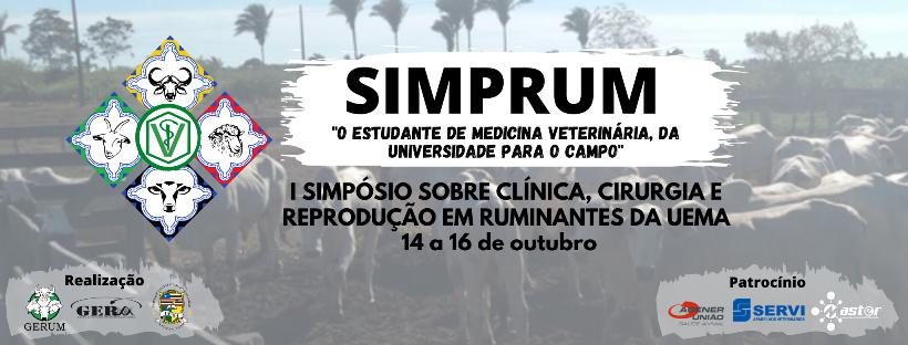 I Simpósio Sobre Clínica, Cirurgia e Reprodução em Ruminantes da Uema