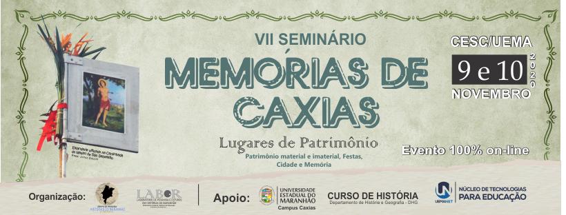 VII Seminário de Memórias: Lugares de Patrimônio